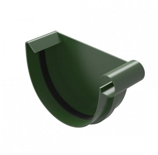 Водостічна систем Заглушка жолоба River права 125 мм