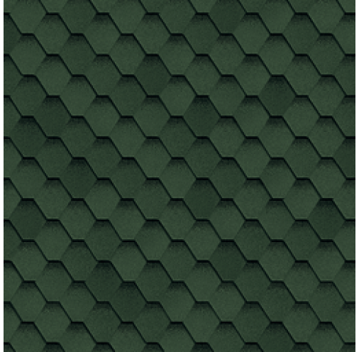 БІТУМНА ЧЕРЕПИЦЯ Самба (Зелений)