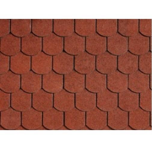 БІТУМНА ЧЕРЕПИЦЯ Bibershield Tile Red