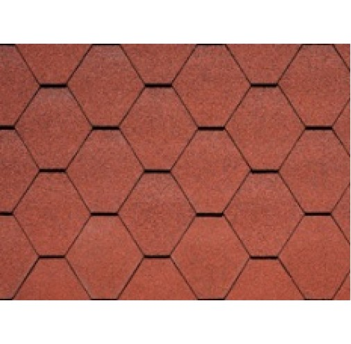 БІТУМНА ЧЕРЕПИЦЯ Monarch Diamant Tile Red