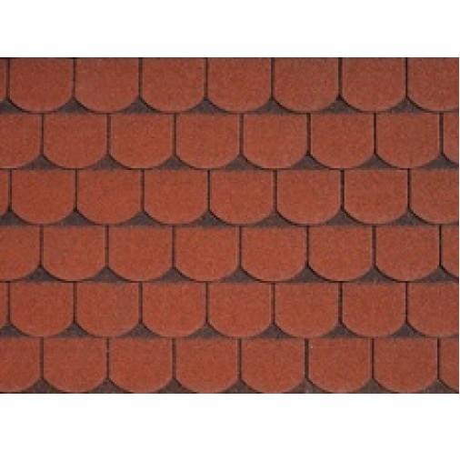 БІТУМНА ЧЕРЕПИЦЯ Victorian Tile Red Ultra