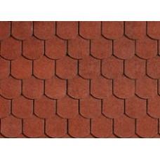 БІТУМНА ЧЕРЕПИЦЯ Victorian Tile Red