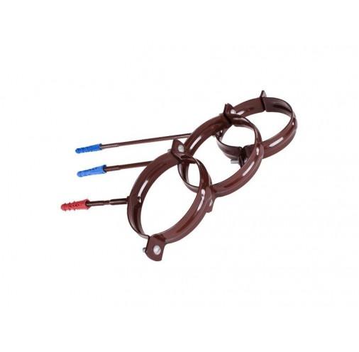 Водостічна система Хомут труби стальний-L220