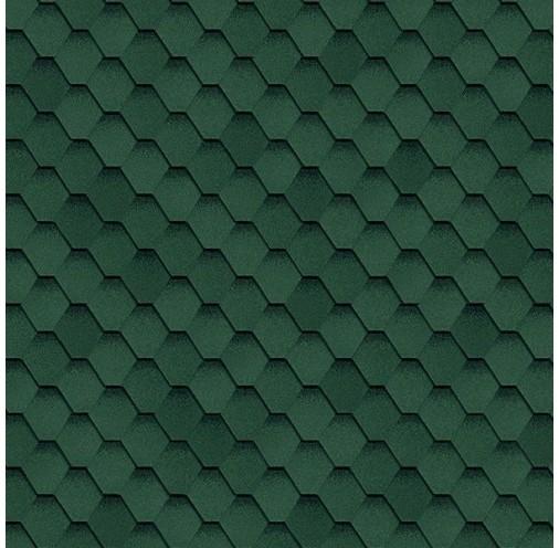 БІТУМНА ЧЕРЕПИЦЯ Кадриль (Зелений)